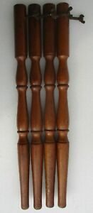Maple Table Furniture Legs Set Of 4 Vintage 21 1 2 High