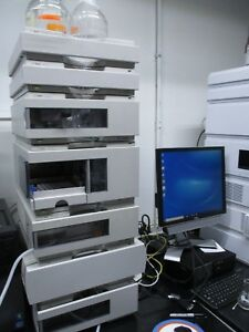 Agilent 1100 Series Hplc Complete System Computer Loaded Chemstation B04 03