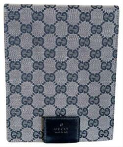 Authentic Gucci Monogram Notepad Cover And Notepad