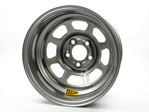 Aero Race Wheels 52 series 15x8 3in Bs 5x4 75 Steel Silver