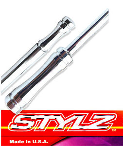 Stylz 15 Chrome Billet Antenna Fits 2007 Thru 2014 Ford Fusion