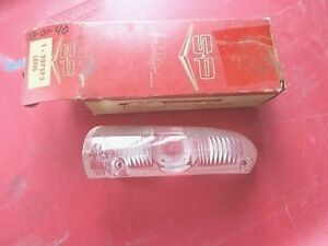 Vtg Nos Genuine Studebaker Left Park Turn Signal Lens 53 54 Models Nib Excellent
