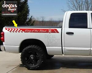 Decal Sticker Bed Side Stripes Set Chevy Silverado 1500 Truck Custom Decals New