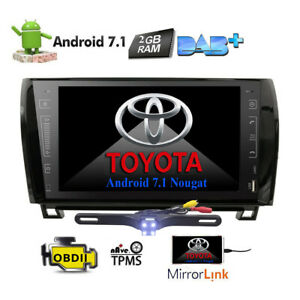 For Toyota Tundra Sequoia 2008 2013 9 Android7 1 Car Radio Stereo Gps Indash Us
