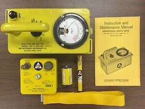 Cdv 715 Radiation Geiger Counter Kit With Cdv 750 Charger And Pen