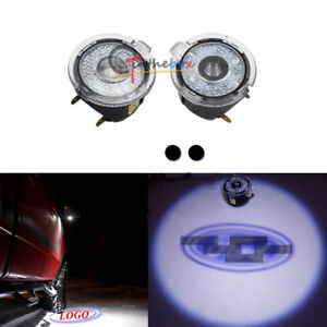 2x Ghost Shadow Led Side Rear View Mirror Puddle Lights For 2009 2014 Ford F150