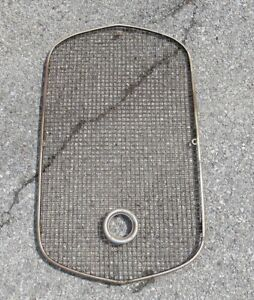 1930 31 Ford Model A Original Used Radiator Protector Grille