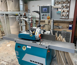 Martin T12 Shaper W feeder woodworking