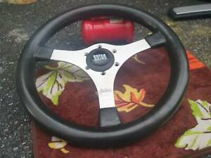 Rare Vintage 1984 Momo Wood Steering Wheel Bmw Toyota Mini Volvo Benz Datsun Vw