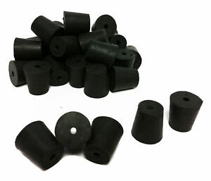 Rubber Stoppers Size 3 1 hole 10 pound Case