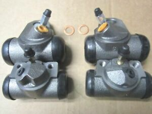55 56 57 Chevy Wheel Cylinders Front Rear Set Belair Nomad Convertible All 4