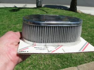 Weber 40dcoe 45dcoe Carburetor Oval Air Filter Assembly 2 1 2 Tall Wash Ffc