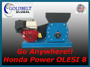 Olesi 8 Orbital Jaw Crusher Rock Grinding Mill Gold Mining Equipment Silver Ore