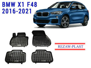 All Weather Rubber Floor Mats Liners Set Fits Bmw X1 F48 2016 2019