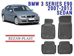 All Weather Floor Mats Liners Set For Bmw 3 Series E90 2007 2013 3d 328 335 Odor