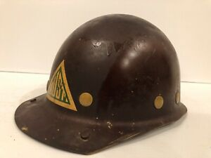Vintage Msa Us Steel Skullgard Hard Hat Or Cap Men s