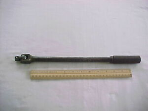 Snap On Underlined 1 2 Inch Breaker Bar Ratchet Gs 15 Knurled Handle Fair
