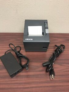 Epson Tm t88iv Thermal Receipt Point Of Sale Pos Printer W Power Supply m129h