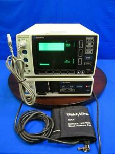 Spacelabs 90603a Ecg Patient Monitor W 90651a