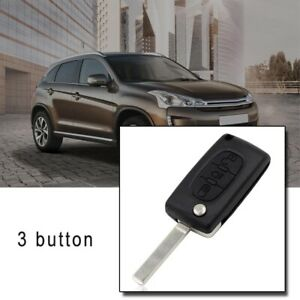 For Citroen C4 Grand Picasso 3 Button Auto Car Remote Flip Key Fob Case Shell