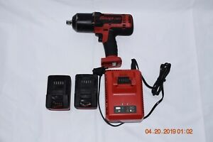 Snap On Ct8850 1 2 Drive 18v Lithium Cordless Impact Wrench Kit Works Mint