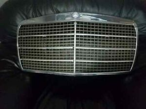 1980 Mercedes Benz W116 Front Hood Bonnet With Grille Used