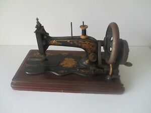 Antique 1878 Singer Sewing Machine 12 K Large Roses Decal 2816461