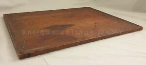 Antique Huge Dough Bread Cutting Board Primitive Wood Treenware Early 20x26