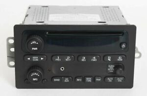 Chevy Avalanche 1500 2003 Radio Am Fm Cd Player W Aux Input Part Number 10357894