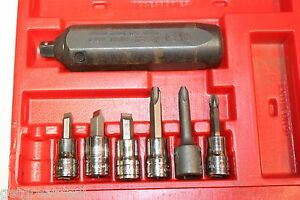 Snap On Tools 3 8 Drive Impact Driver And Bit Set