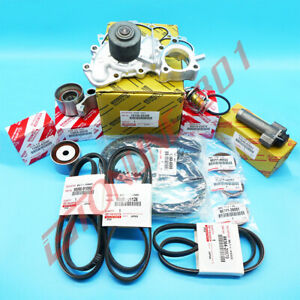 Toyota Oem Timing Belt Kit Water Pump 3 4l V6 Engine For Tacoma Tundra 4runner