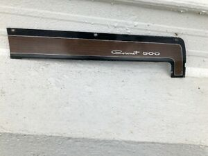 Oem 1969 Dodge Coronet 500 Upper Dash Glove Box Trim Bezel