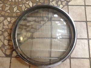 Corcoran Brown Headlight Glass Lens Bezel Auto Truck Headlamp Control Beam Early