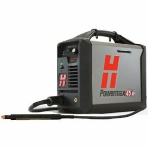 Hypertherm 088123 Powermax 45xp Plasma Machine Hand System 25 Torches Cart