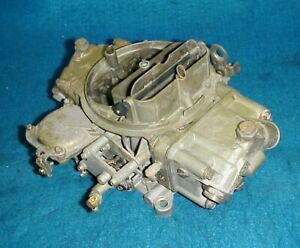 Holley 3310 750 Cfm Carburetor Dual Feed Vacuum Secondaries Chevy Ford Carb