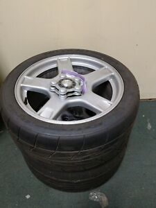 Drag Radials Oe Wheels With Nitto Used Once