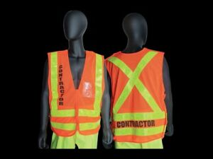 Nycta Mta Nyc Transit Breakaway Contractor Safety Vest