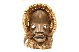 Large Old African Mask Ancient Masque Africain Dan Liberia Tribal Art Antique