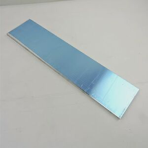 75 Thick Precision Cast Aluminum Plate 5 375 X 24 Long Sku140797