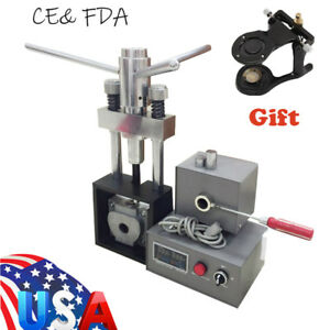 Dental Flexible Denture Machine Material Injection System Equipment Heater Press