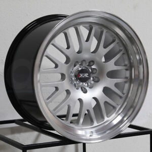 15x8 Xxr 531 4x100 4x114 3 20 Hyper Silver Ml Wheels Rims Set 4