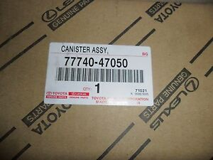 Toyota Prius Charcoal Vapor Canister Oem 2004 2008 New Genuine 77740 47050