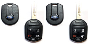 2 New Ford 4 Button New Style Remote Head Key Shell Usa Seller Best Quality A