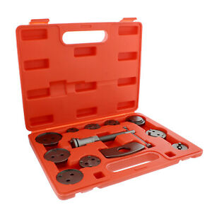 Abn Front And Rear Caliper Brake Rewind And Piston Compression 12 Piece Tool Kit