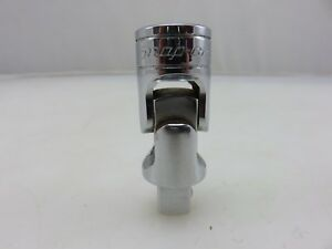 Snap on Fu8a 3 8 Drive Universal Joint Swivel Socket Adapter Chrome Made In Usa