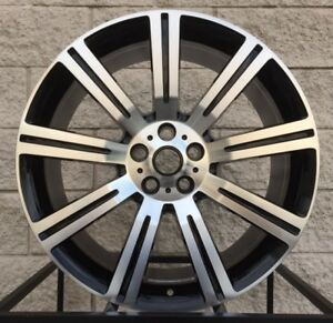 22 Range Rover Stormer Style Wheels Tires Black Machine Rims Sport Supercharged