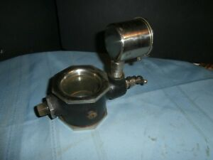 Antique Gits Bros Hit Miss Gas Engine Large Oiler Lubricator