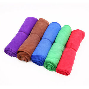 30 Pack Microfiber Cleaning Cloth No Scratch Rag Car Polishing Detailing Towel