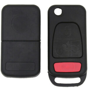 1x 4button Folding Flip Remote Key Shell Case For Mercedes Benz Ml350 Ml320 Amg