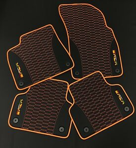 Lamborghini Urus 2018 2019 Custom Leather Floor Mats